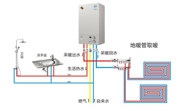 燃气热水器水量调节阀内部结构图