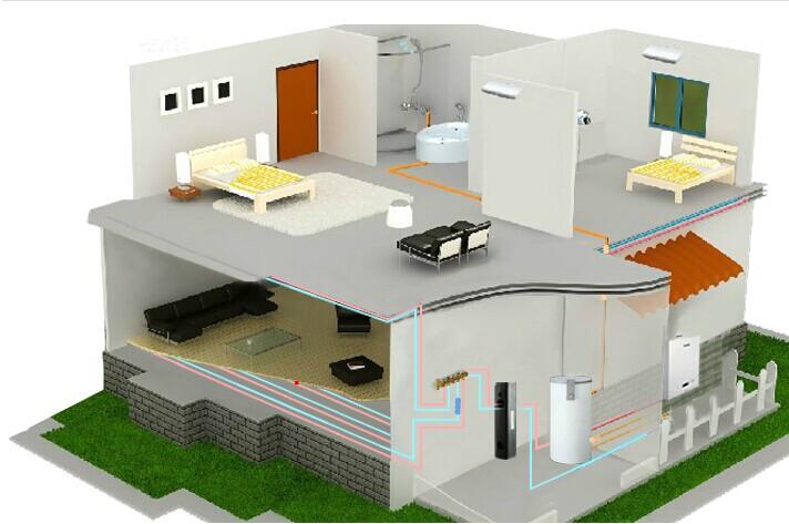 """燃氣壁掛爐水暖地板輻射采暖優點 燃氣壁掛爐水暖是地板輻射采暖的其中一種,也是目前最流行的一種采暖方式,它比起電暖還是相當有優勢的。燃氣壁掛爐水暖是通過地面盤管,管道里有循環流動的熱水,通過地板輻射層中的熱媒,均勻加熱整個地面,利用地面自身的蓄熱和熱量向上輻射的規律由下至上進行傳導,來達到取暖的目的。由于在室內形成腳底至頭部逐漸遞減的溫度梯度,從而給人以腳暖頭涼的舒適感。壁掛爐地面輻射供暖符合中醫""""溫足而頂涼""""的健身理論,是目前最舒適的采暖方式,也是現代生活品質的象征。 燃氣壁掛爐水"""