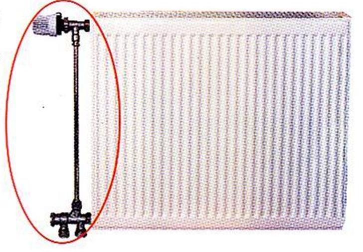 燃气壁挂炉采暖炉与散热器的连接方式图片