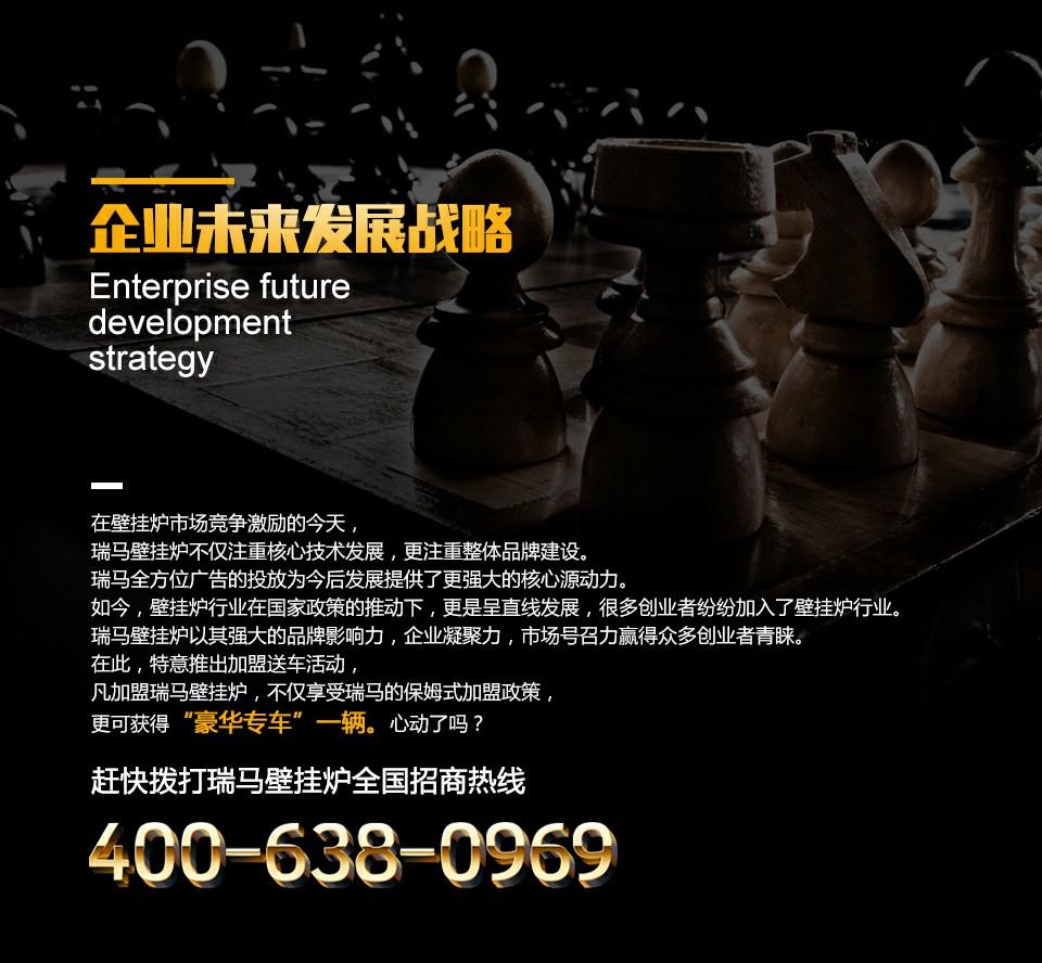 瑞马壁挂炉企业未来发展战略