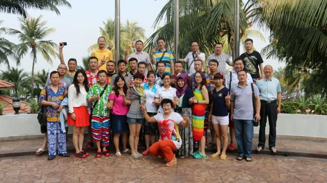 中国瑞马壁挂炉加盟商畅游泰国